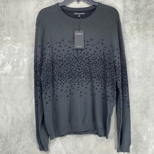 Robert Barakett Charcoal Grey Johnny Geometric Pri